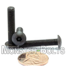 "#10-32 x 1"" - QTY 10 - SECURITY SCREWS Button Head Pin In Socket / Hex Bolts"