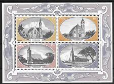 SOUTH WEST AFRICA MINI SHEET SG 323 HISTORIC CHURCHES 1978 M.N.H.