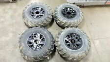 16 Polaris ACE 900 SP 900SP atv front and rear wheels rims tires set wheel rim