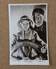 Shirley Temple & Guy Kibbee Real Photo Postcard xc2