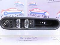 Mini Countryman R60 Driver Side Electric 4 Way Powerfold Window Switch 9289624