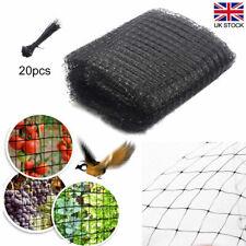 More details for garden fish pond net cover anti sludge heron netting koi protect mesh black uk