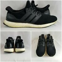 Adidas Ultra Boost 4.0 Running BB6166 Shoes Sneaker Black White Men's Size 13