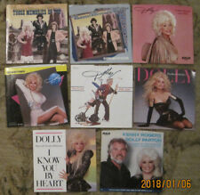 LOT of 8 DOLLY PARTON 45rpm Picture Sleeves (only)