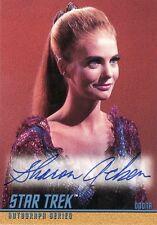 Star Trek ToS Season 3 Sharon Acker as Odona A79 Auto Card