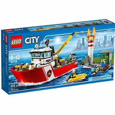 LEGO City Fire Boat (60109) - Brand New - Damaged Box