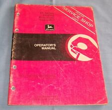 John Deere 85 Series Folding Row-Crop Cultivator Manual - C2659