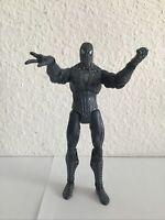 MARVEL LEGENDS BLACK SUIT SYMBIOTE SPIDER-MAN 3 ACTION FIGURE 6 INCH LOOSE