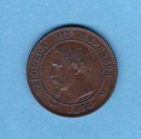 (BR.54) 10 CENTIMES NAPOLÉON III 1854 B ROUEN (TTB-)