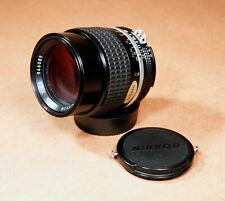 Nikon Nikkor 105mm f/2.5 AI-s F Mount Telephoto Portrait Lens - CLEAN!