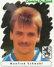 152 MANFRED SCHWABL GERMANY TSV.1860 MUNCHEN STICKER FUSSBALL 1996 PANINI