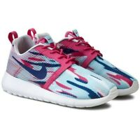 SCARPE NIKE DONNA RAGAZZA ROSHE ONE FLIGHT WEIGHT GS COPA BLU ROSA 705486 401