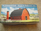 Vintage Plasticville HO Scale Barn with Silo Kit in Box 2602-100