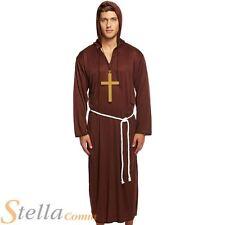 Adulte Moine Costume Robin Des Bois Frère Tuck Religieux Costume Déguisement