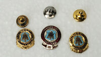 Lot of 3 Local Union Carpenters Lapel Pins 25 30 35