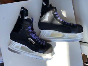 Bauer Ice skate Black Skating Shoes Uk Size 8