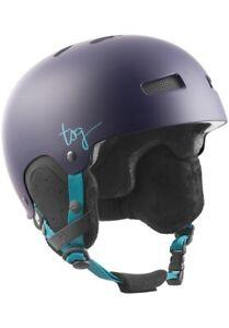 TSG Lotus Solid Couleur Satin Figue XS/XXS - Casque de Snowboard