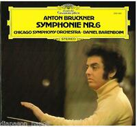 Bruckner: Symphony (Sinfonie) N.6/Barenboim Chicago Symphony - LP DGG