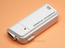 Pocket Emergency Charger Flashlight For USB iPod iPhone