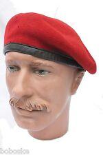 Béret rouge de la Bundeswehr-Tour de tête 58 cm uniquement (Size 58 cm)