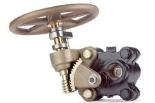 BOILER BLOW DOWN BLOW OFF GATE VALVE 1 1/4 SLOW OPENING 750PSI MODEL 525