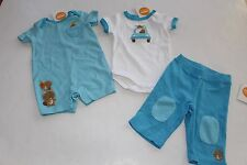 Gymboree Brand New Baby Boys Baby Beaver Bunny Size 0-3 M NEW Pants Top Sets
