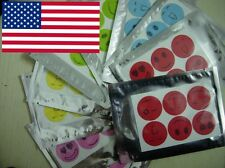 120pcs SMILEY INSECT MOSQUITO NATURAL REPELLENT STICKERS PATCHES CITRONELLA OIL