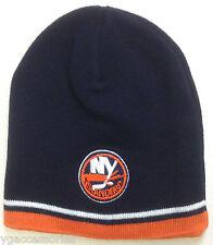 NWT NHL New York Islanders Cuffless Winter Knit Hat Cap Beanie NEW!
