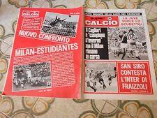 CALCIO RIVISTA SUPERCALCIO ANNO I NR 16 POSTER  LAZIO 30-12-1969 LECCE FAENZA