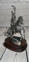 VTG Chilmark Michael Boyett Sioux War Cry  1980 Pewter Sculpture 893/2500 Figure