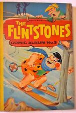 Vintage 1964 Hanna-Barbera Flintstones Comic Album 3 Comicbook b&w 96pgs 1960s