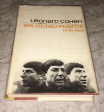 Leonard Cohen Selected Poems 1956-1968 First Edition Viking Press Suzanne RARE!!