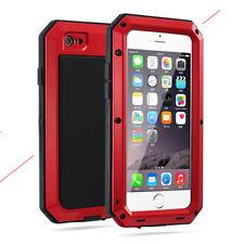 Shockproof Aluminum Gorilla Glass Metal Case Cover For iPhone 11 Xs Max 7 8 Plus