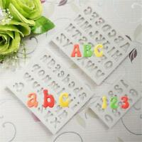 Silicone Alphabet Letter Number Chocolate Cake Fondant Candy Mold Mould Tool HO3