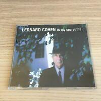 Leonard Cohen _ In My Secret Life _ CD Single PROMO _ 2001 Columbia _ near mint