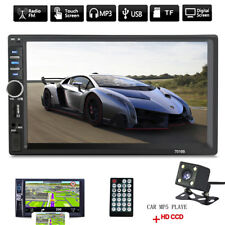 7 Inch 2DIN Car MP5 Player Bluetooth 1080p HD Audio/Video/USB Rearview + Camera