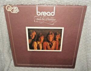 "Bread - Baby I'm A Want You 12"" LP Vinyl Record"