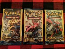 POKEMON XY - BREAK POINT TRADING CARDS 3 PACKS BRAND NEW/SEALED!!!!