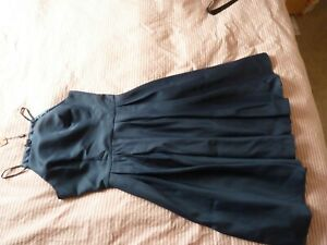 Chi Chi London navy Bridesmaid Dress Size 12,  full skirt, new tags