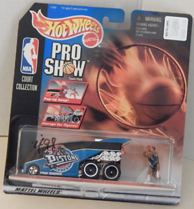 Hot Wheels Drag Bus NBA Pro Show Detroit Pistons Grant Hill Jerry Stackhouse