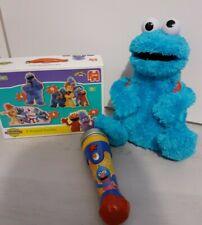Furchesters, sesame street Cookie monster , Jigsaw, Microphone Bundle
