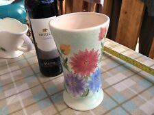 "Rare Radford Vase Handpainted Flowers 99p Start No Reserve 7"""
