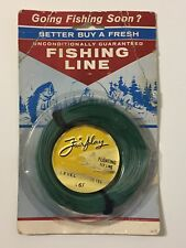 Vintage 1950s NEW Cortland Fairplay Floating Fly Fishing Line 25 Yards L6F NOS