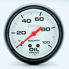 5827 Autometer 5827 Phantom Electric Oil Pressure Gauge