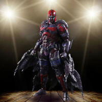 Play Arts Kai  X-Men Variant Magneto PVC Action Figure Collectible Model Toy