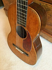 Mid 19th Century early Romantic Guitar with small body. Good action. approx 1860
