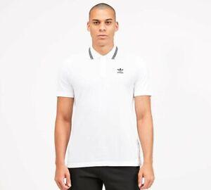adidas - Pique Polo Shirt (White) Mens