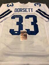Tony Dorsett Dallas Cowboys NFL Original Autographed Jerseys  b1a4219f0