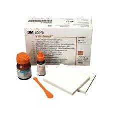 Vitrebond Light Cure Glass Ionomer Liner/Base Intro Kit Powder & Liquid 7510