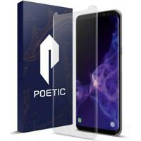 Poetic For Samsung Galaxy S9  Tempered Glass Screen Protector [Ultra Thin] Clear